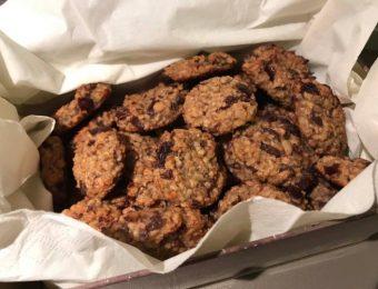 Овесени бисквити без опаковка